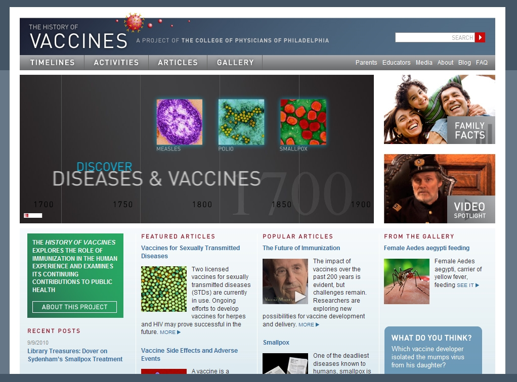 the history of vaccines Vaccine is unique in publishing the highest quality science across all disciplines relevant to the field of vaccinology - all original article submissions across basic and clinical research, vaccine manufacturing, history, public policy, behavioral science and ethics, social sciences, safety, and many other related areas are welcomed.
