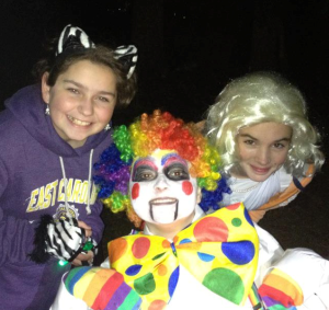 My daughter and her friends, Julianna & Kimberly, on Halloween.