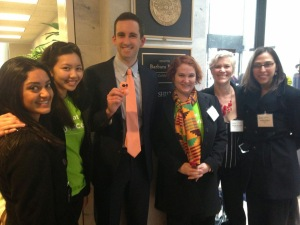 Shot@Life Champions with Walker Zorensky,  Legislative Research Assistant, Office of Senator Barbara Boxer