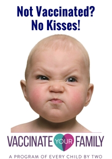 Not Vaccinated?No Kisses! Poster Purple.jpg